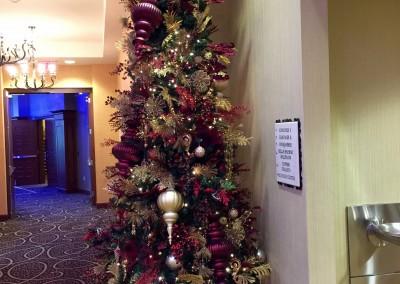 Hilton Hotel Christmas tree